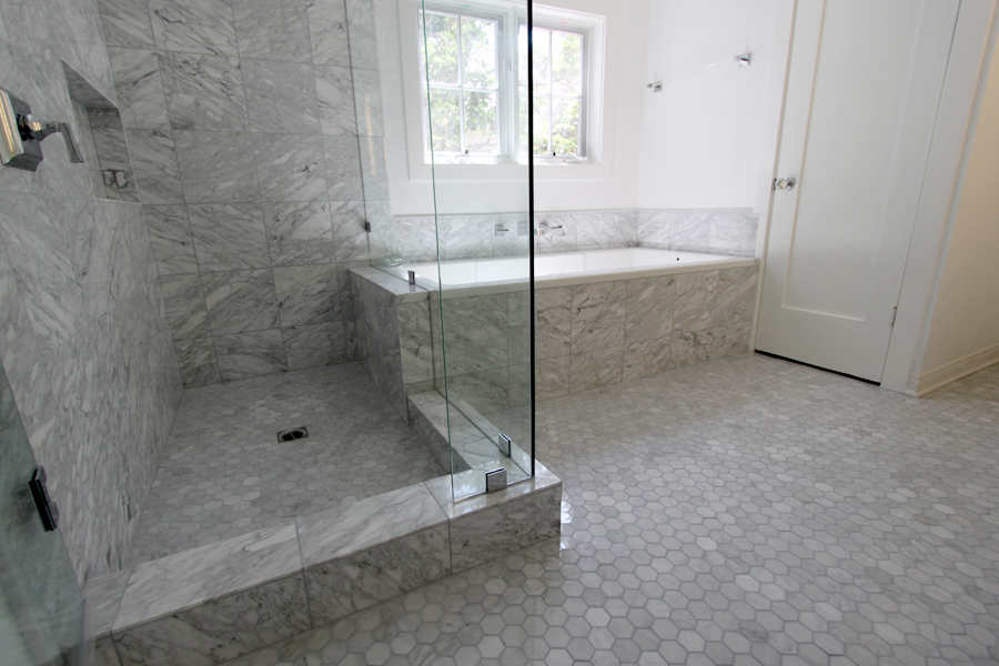 Portfolio los angeles tile contractors 323 662 1011 for Bathroom floor repair contractor